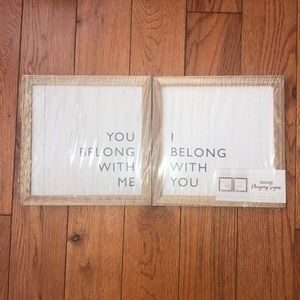 🎉3/$10🎉NWT Hanging Signs!